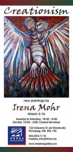 New Major Paintings By Irena Mohr